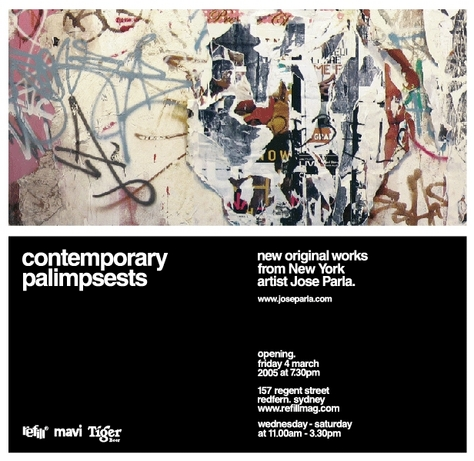 contemporary palimpsests